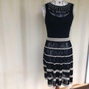 Dresses & Skirts - Black Crochet Dress Sexy!!